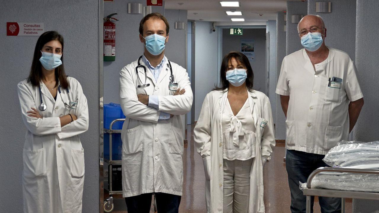 Segundo cribado por coronavirus en el Puerto de Vigo.En el centro de salud de A Guarda solo trabajan cuatro médicos y otros cuatro están de baja
