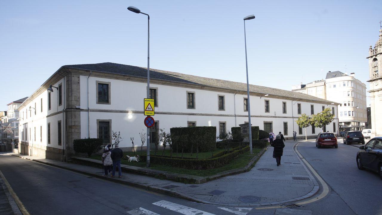 Exterior del cuartel de San Fernando