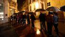Colas para acceder al Bellas Artes durante la Noche Blanca de Oviedo