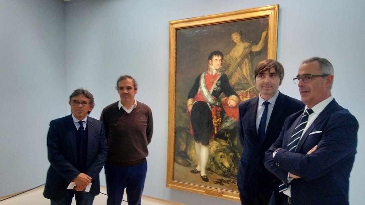 El cuadro ya expuesto en el Bellas Artes