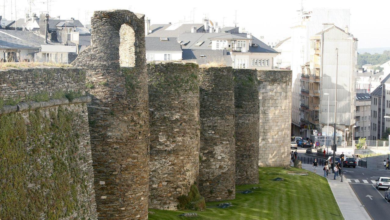 El primer capítulo de la «Historia de Galicia» de Villares aborda la Gallaecia y la ciudad de Lucus Augusti