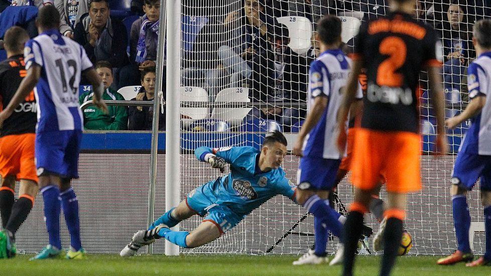 El Deportivo-Real Sociedad, en fotos