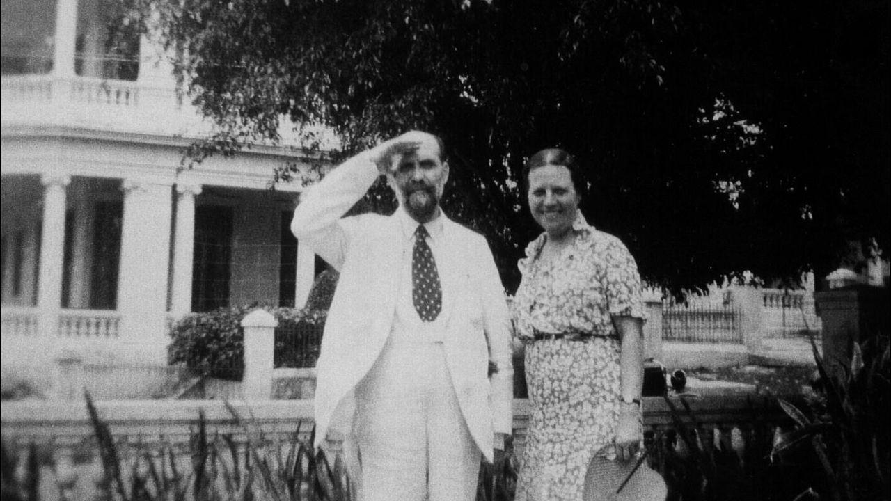 Juan Ramón Jiménez y Zenobia Camprubí, retratados en Estados Unidos a comienzos de los años 40