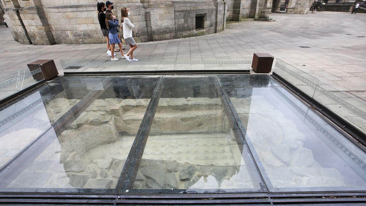 La ventana arqueológica de Santa María