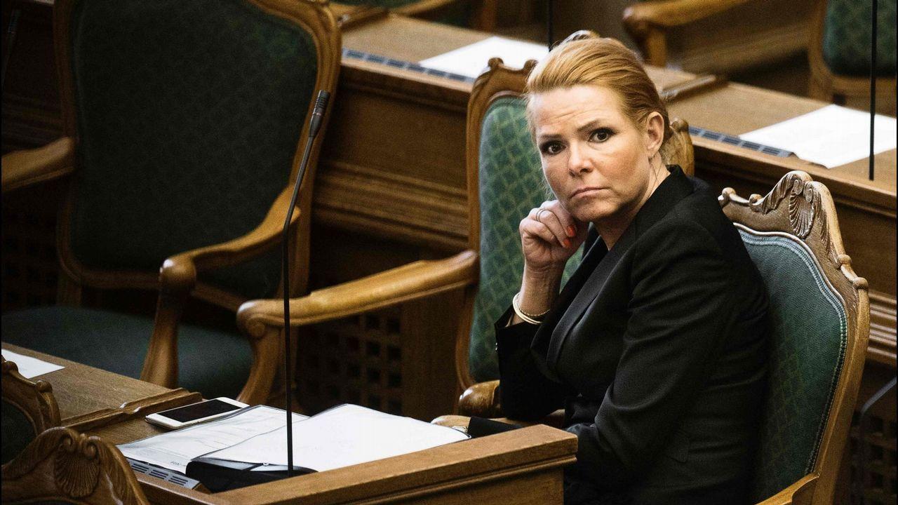 La ministra de Integración danesa,  Inger Stojberg