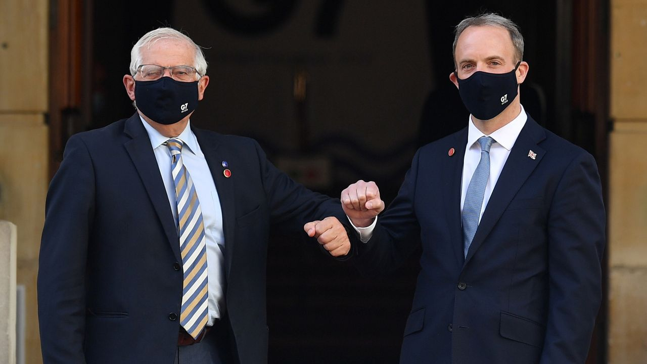 Borrell y Raab coinciden desde el martes en la cumbre del G7 en Londres