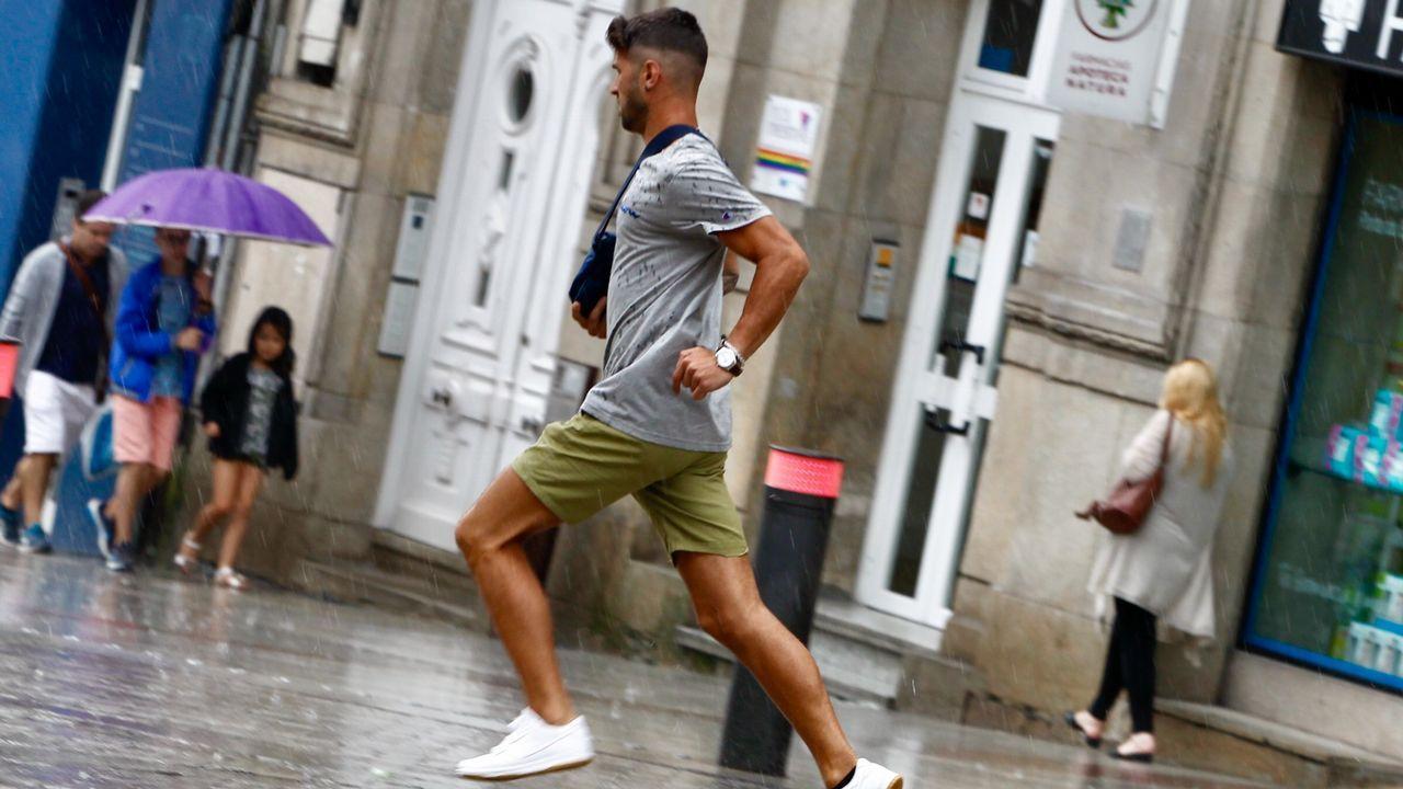 Tormenta de verano en Vigo