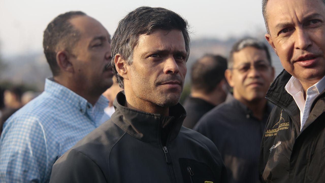 El político venezolano Leopoldo López