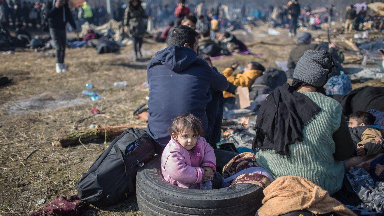 En Moria, el mayor centro de acogida de refugiados de la UE, viven 19.225 personas en condiciones de insalubridad y hacinamiento