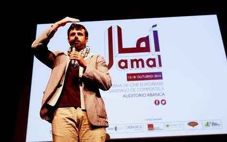 Jaber Martínez inauguró la semana de cine euroárabe que acogerá el auditorio Abanca.