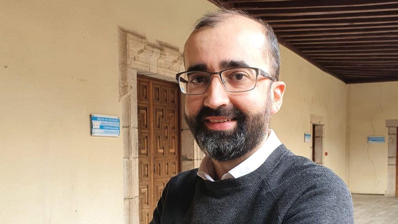 José Víctor Rodríguez, alcalde de Cangas del Narcea
