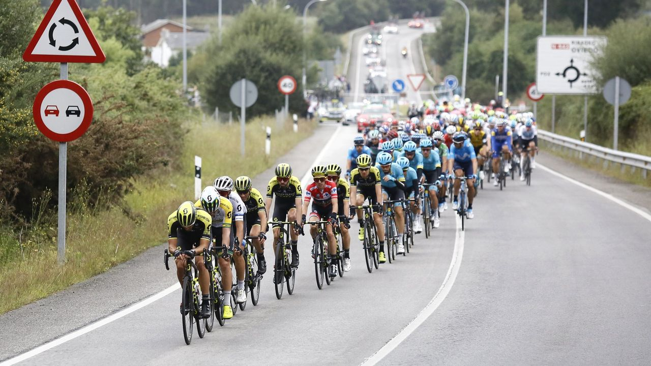 Presentación de las etapas gallegas de La Vuelta 2021.Homenaje celebrado durante la tarde por Araceli Ruiz Toribios