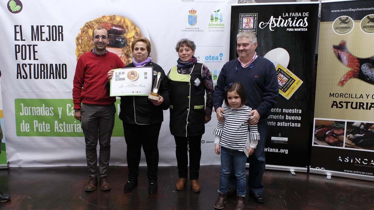 La Allandesa, ganadora del primer campeonato del Mejor pote asturiano