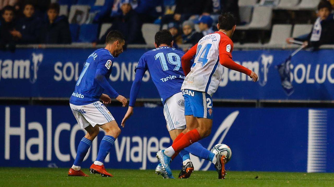 Derbi en el Tartiere entre el Oviedo y el Sporting de la temporada 2019-2020