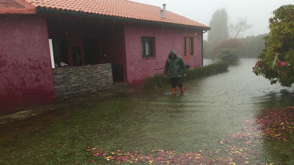 Inundaciones en Monte Xalo.