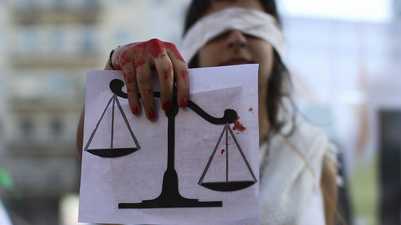 violencia de género, feminista, feministas, feminismo, agresiones a mujeres.Imagen de una manifestación a favor de la igualdad
