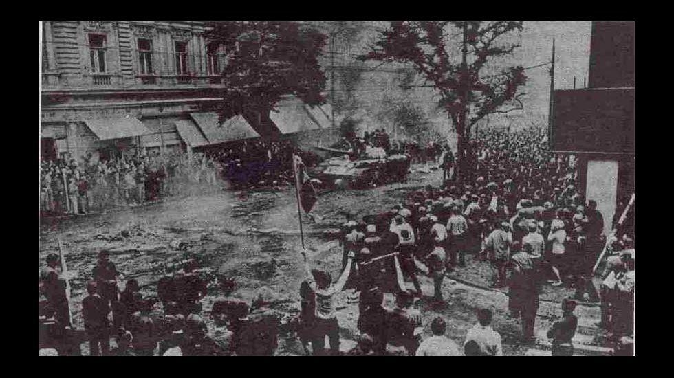 Un dos acontecementos fundamentais do 68: a Primavera de Praga
