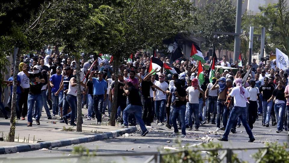 Protestas en la frontera