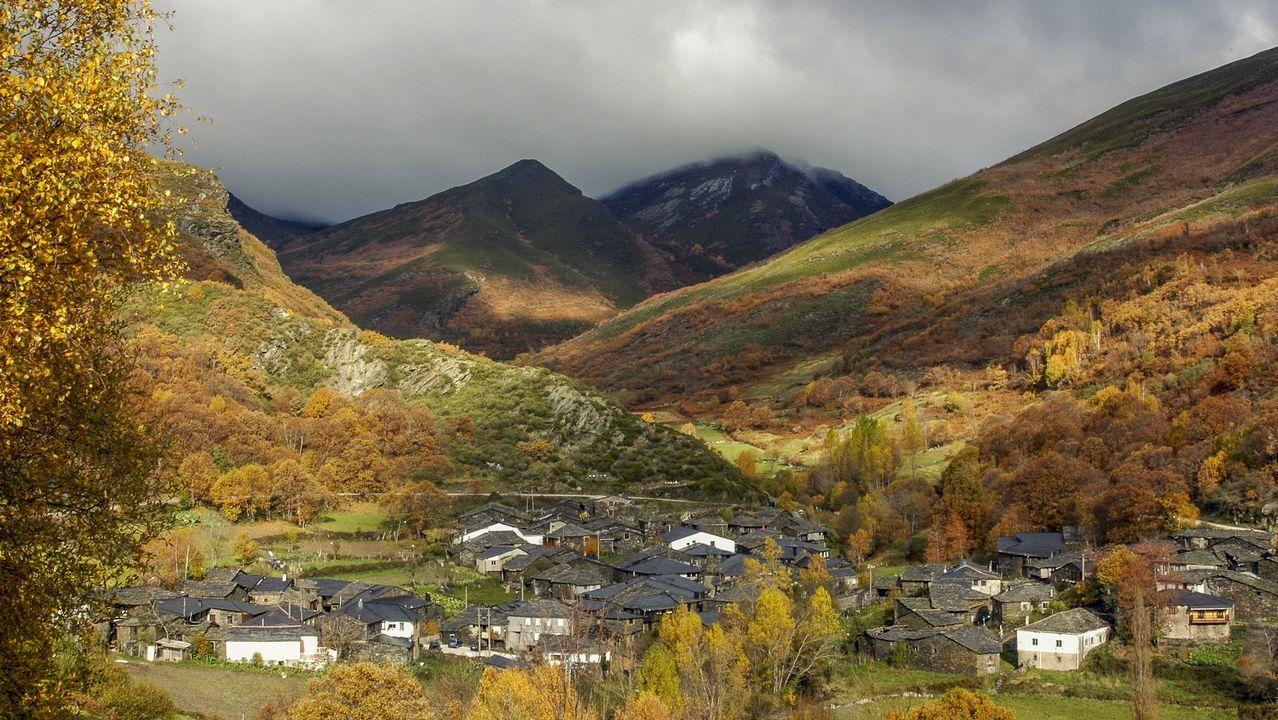 La aldea de A Seara, en el concello de Quiroga, es uno de los pueblos más representativos de la sierra de O Courel