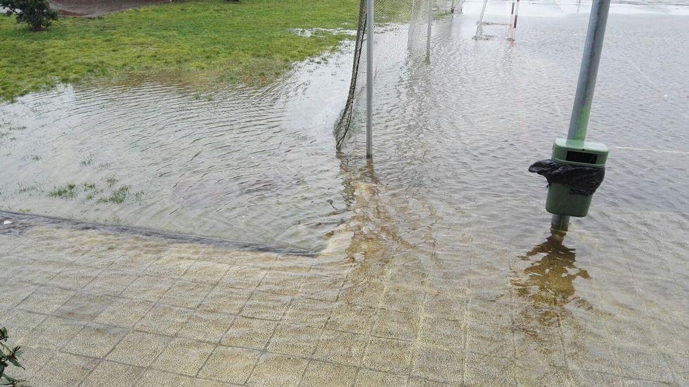 Inundaciones en Laxe.