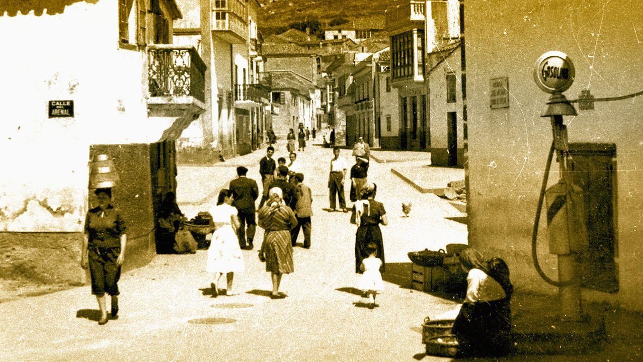 Malpica, a comezos de 1900