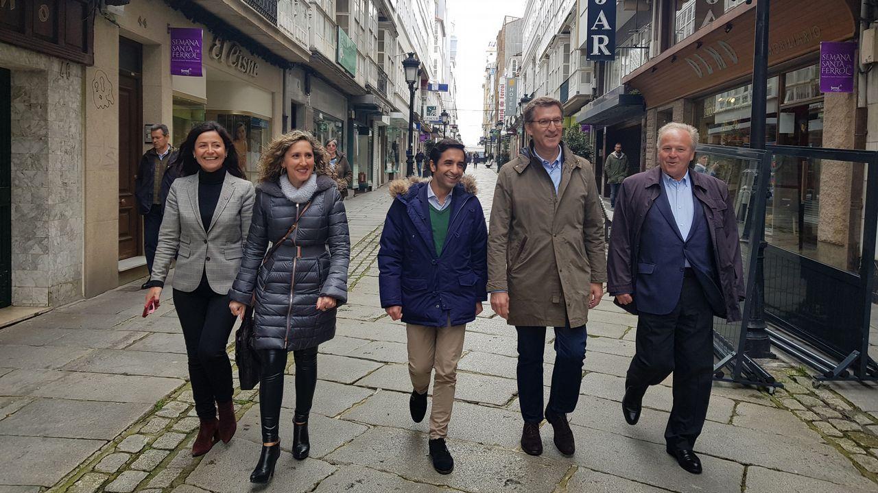 Los diputados gallegos que entrarán en el Congreso.Xulio Ferreiro
