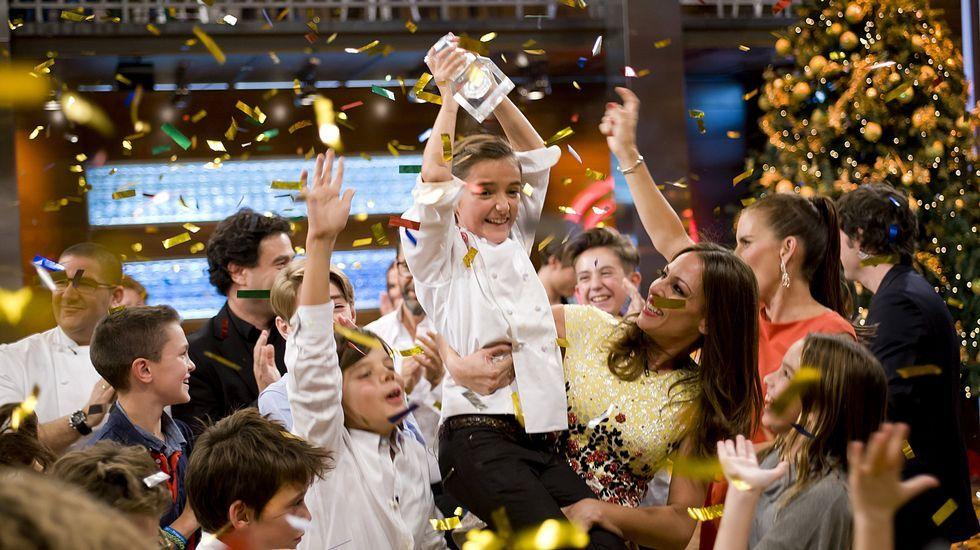 María gana «MasterChef Junior».Vista de la sala donde se juzga el caso Goldfinger