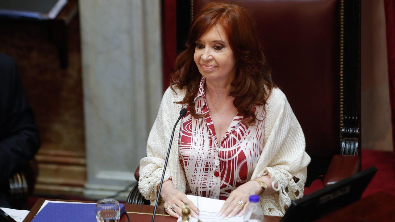 Cristina Fernández de Kirchner debutó como presidenta del Senado.