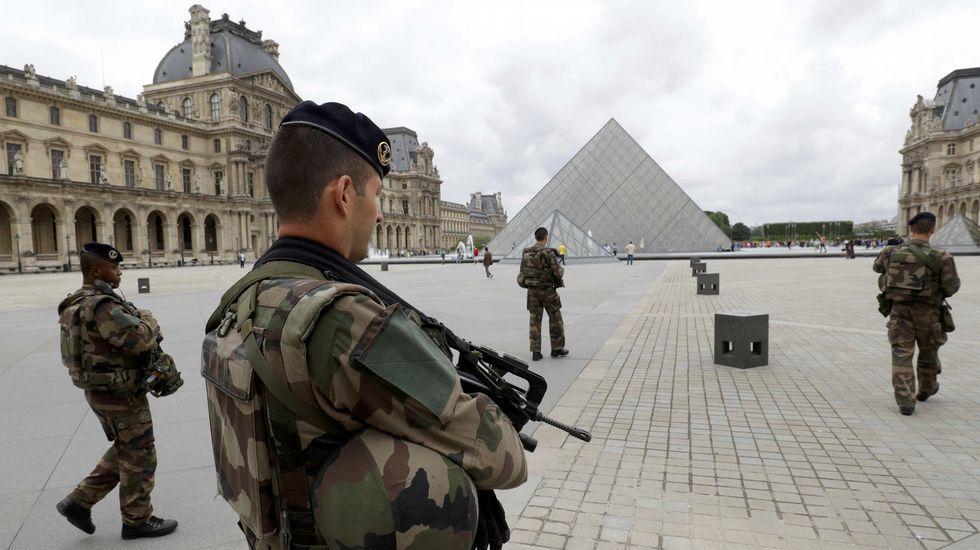 Las imágenes del robo a Kim Kardashian en París.Reda Abdullah al-Hamamy, padre de Abdullah Reda, autor del ataque frustrado en el Louvre