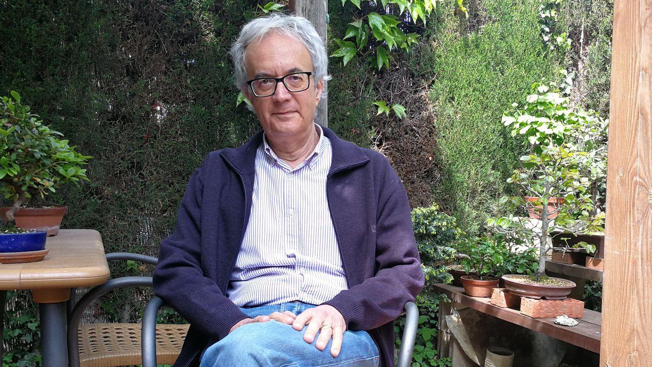 Combo Pontevedra .Fernando García es miembro del Centro Nacional de Epidemiología