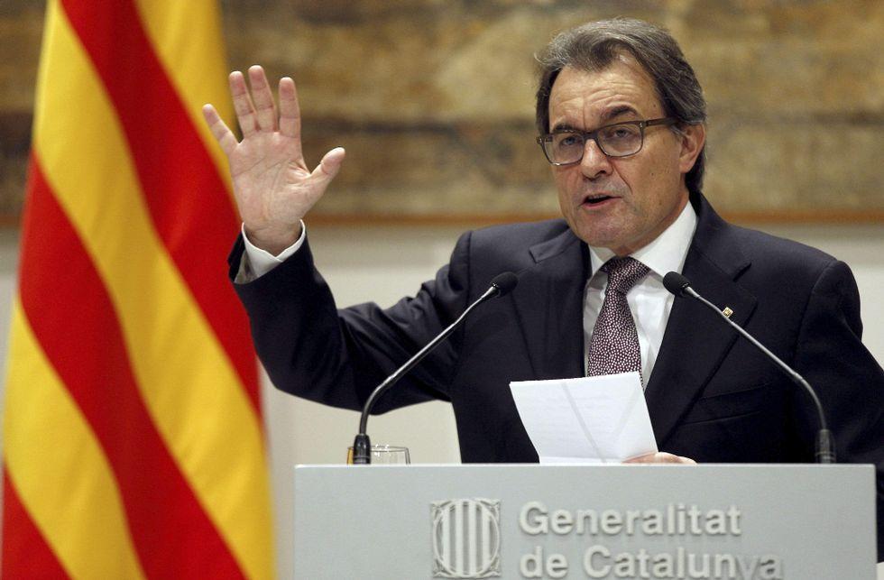 Artur Mas anunció ayer que habrá elecciones autonómicas en Cataluña el 27 de septiembre.