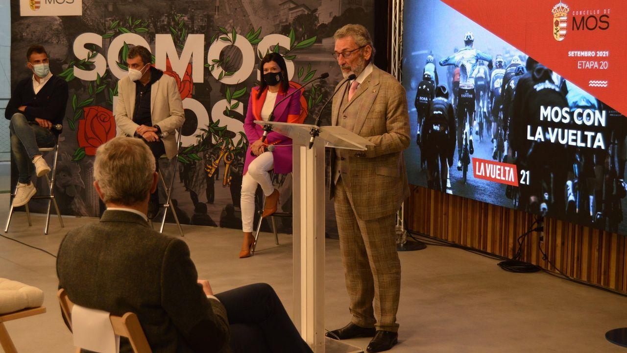 La presentación de la Vuelta a España en la ciudad deportiva del Celta, en imágenes
