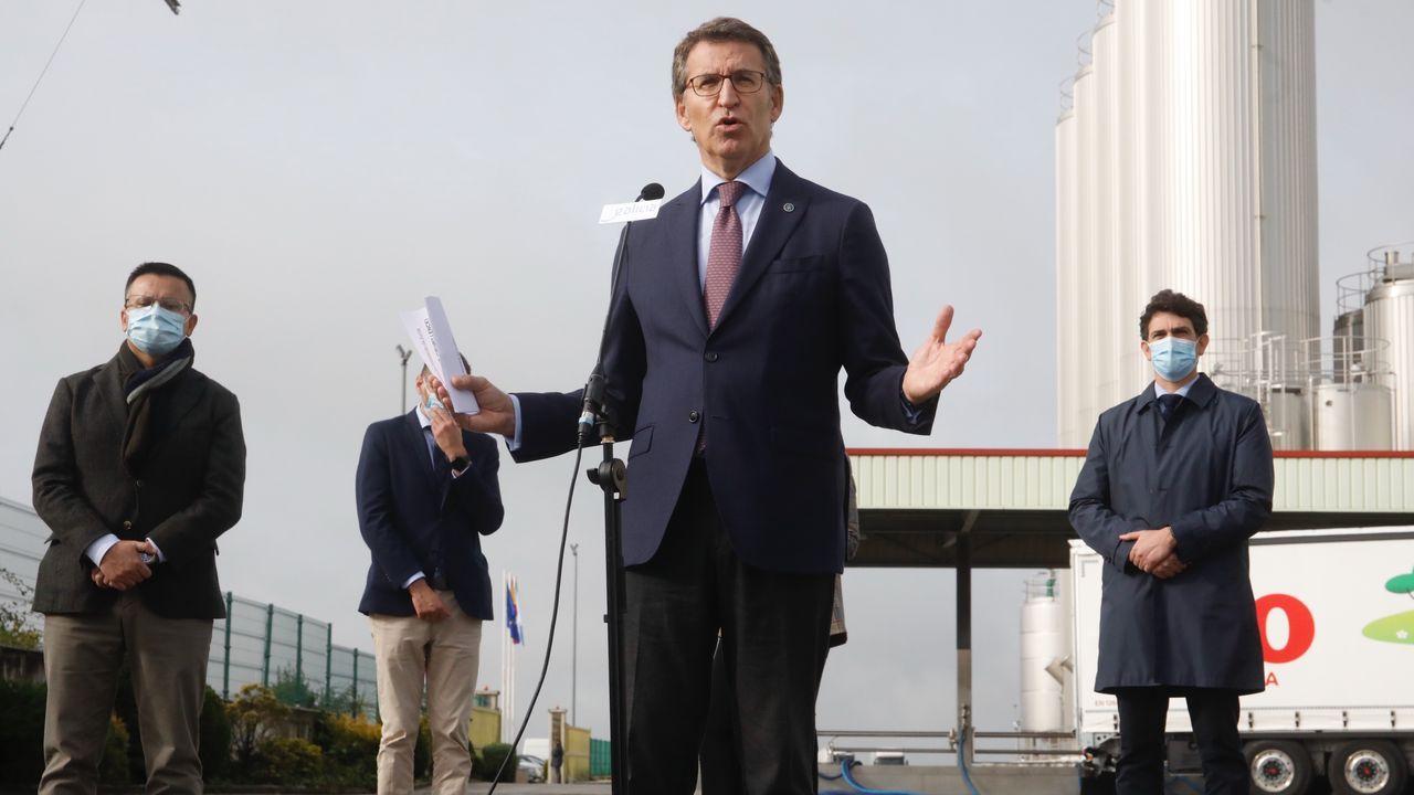 Feijoo anunció la congelación salarial de los miembros de su ejecutivo el próximo año