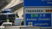 Controles tras el cierre perimetral de Oviedo, Gijón y Avilés