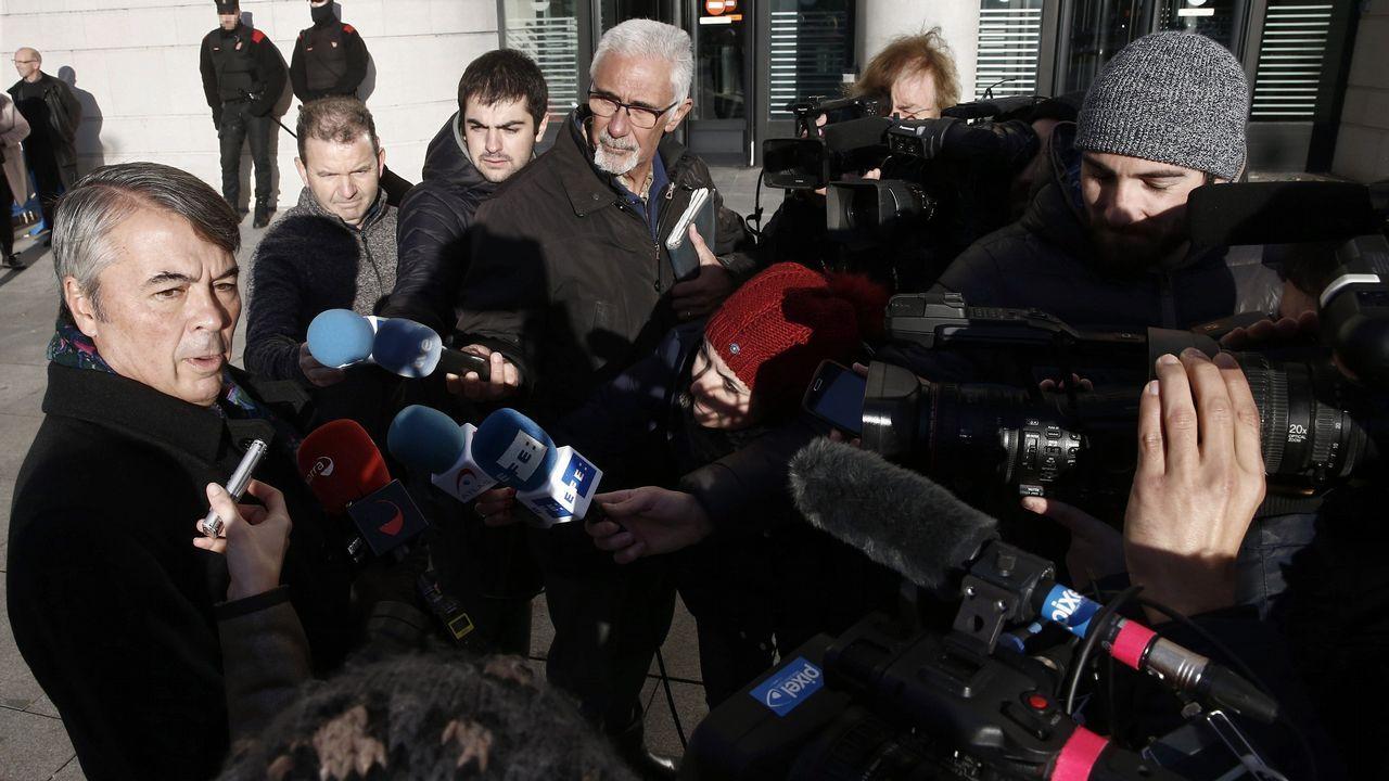 Las dos últimas sesiones del juicio a «La Manada», abiertas a la prensa, pero sin cámaras.Agustín Martínez, abogado de tres de los acusados