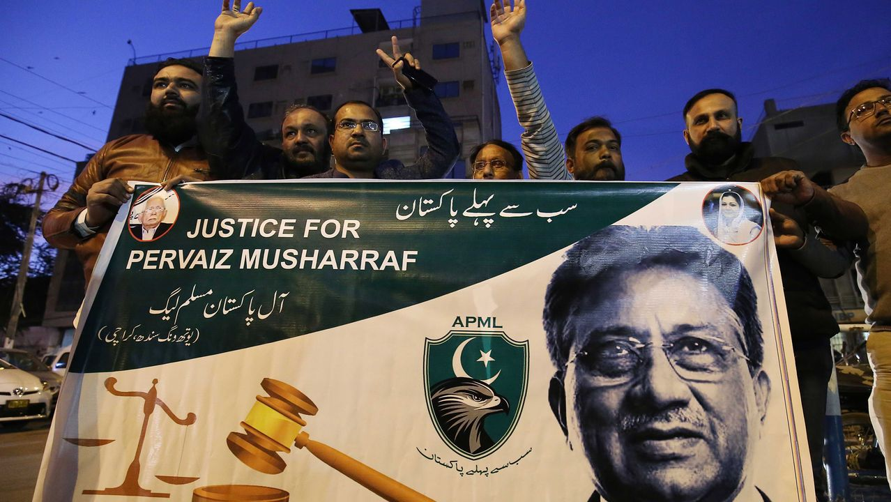 Seguidores de Musharraf protestan por la sentencia