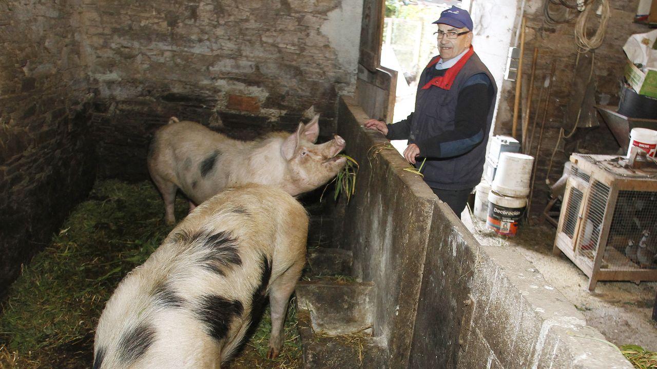 La cariñesa Terita Docanto, con su bisnieto Hugo