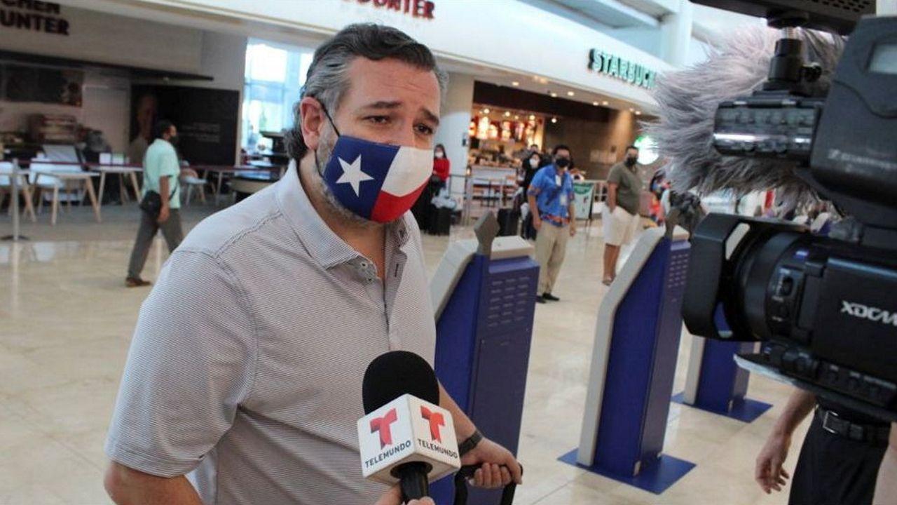 Entrevista a Alfonso Rueda sobre las restricciones y ayudas a la hostelería.TEd Cruz, en el aeropuerto de Cancún antes de coger su vuelo de regreso a Texas