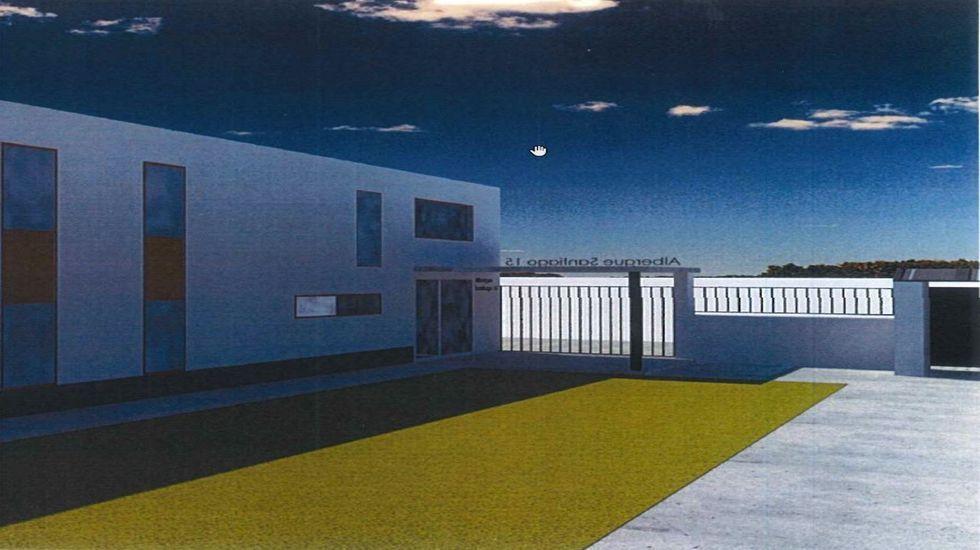 Cae una red que introducía hachís por el Guadalquivir.Imagen virtual del futuro albergue de peregrinos de la calle Santiago