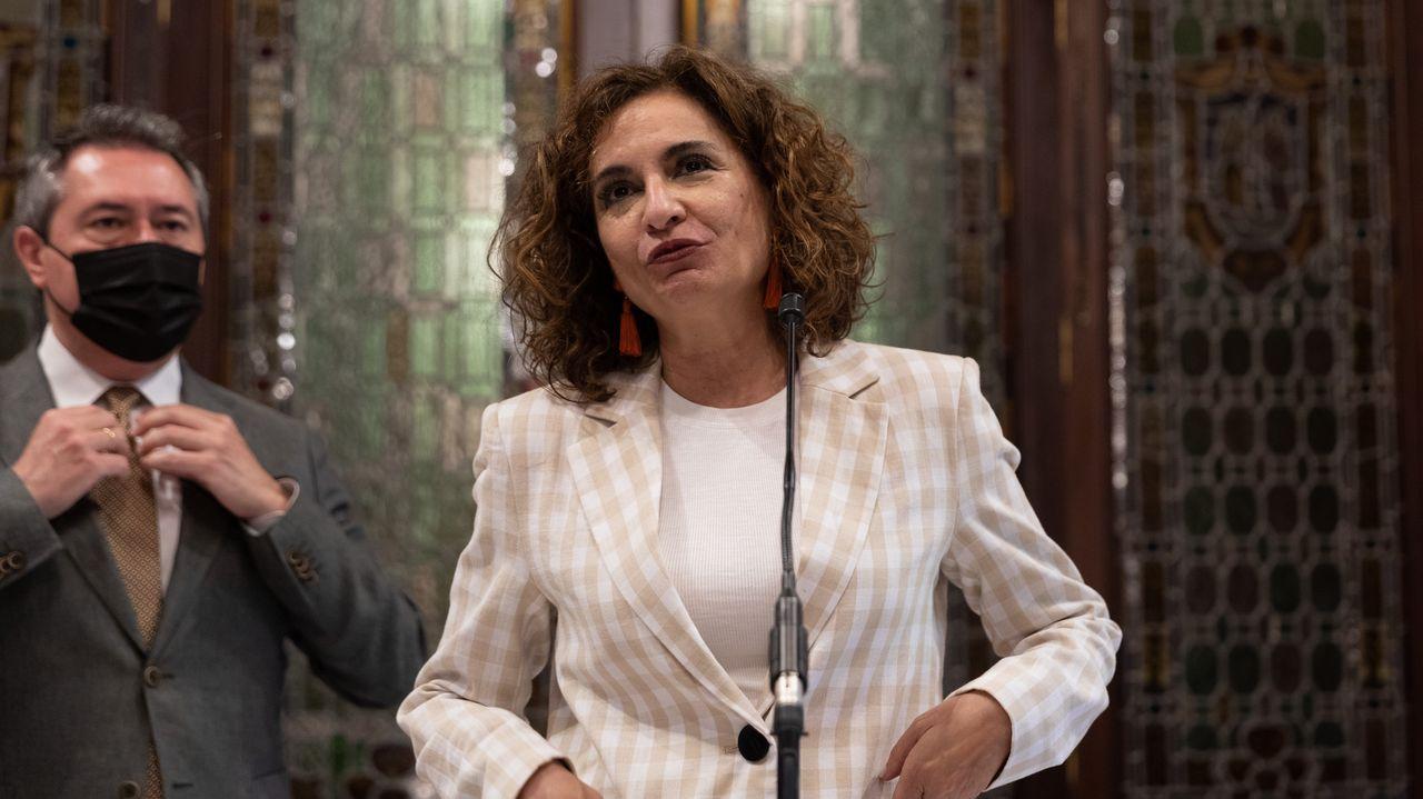 Melania Álvarez, portavoz del Principado de Asturias