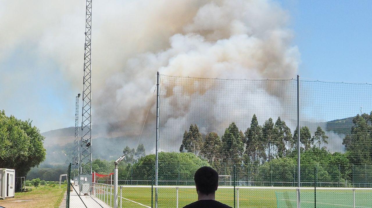 La lucha contra el fuego