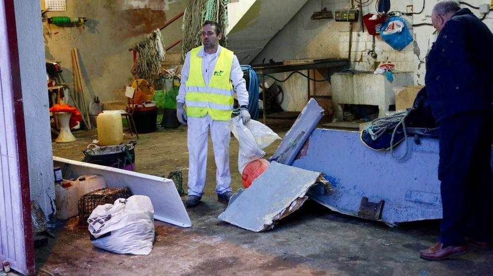 Aparecen restos de la embarcación hundida en Cíes