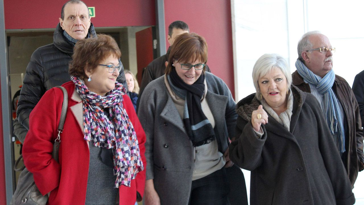Pilar Varela  visita el centro Stephen Hawking