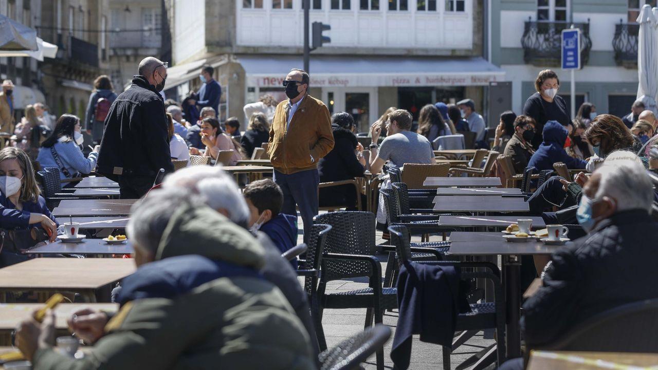 Los empleados del sector servicios son los más afectados por el paro en Lugo