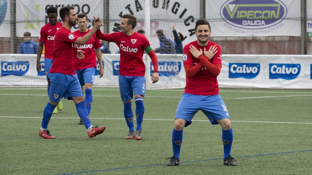 ¡Mira aquí las imágenes del partido de Tercera entre el Boiro y el Bergantiños!