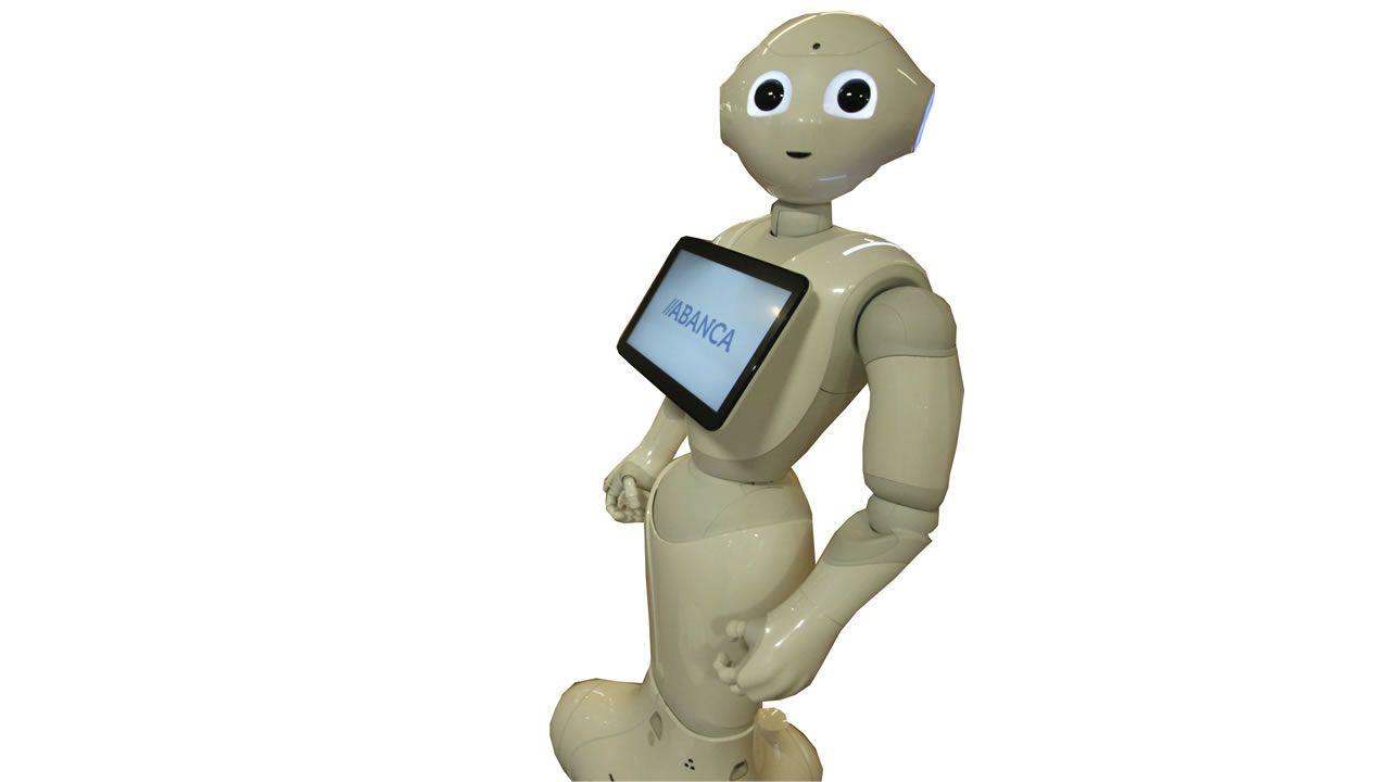 R4. Robot social, utilizado por Abanca para atención al cliente