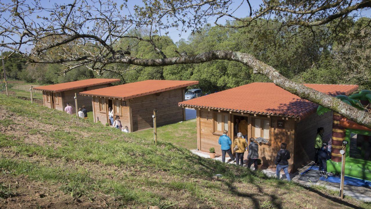 Bungalós del campamento turístico Santa María Brandoñas