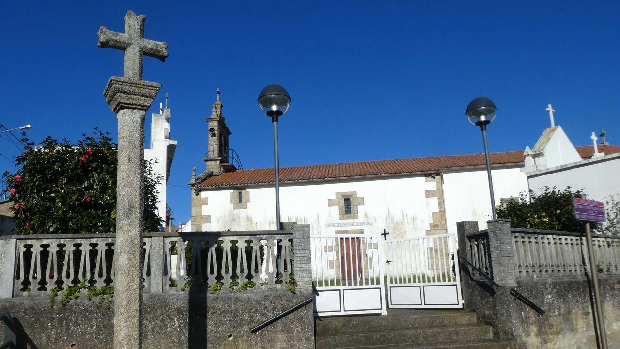 Iglesia de San Martiño de Andeiro en Cambre