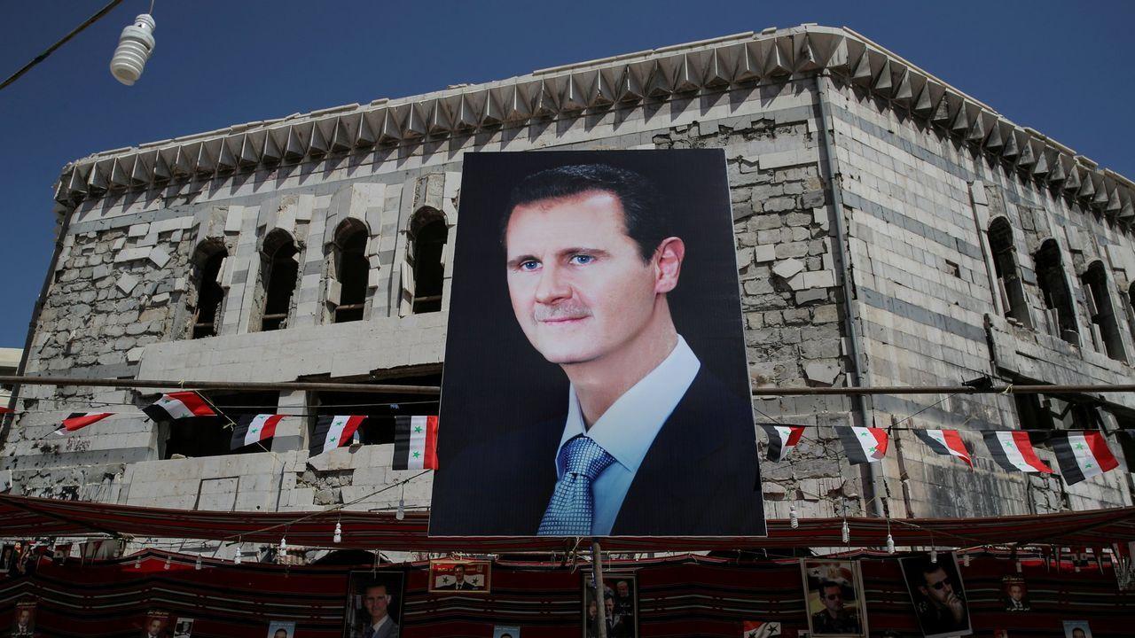 Nuevos enfrentamientos en Jerusalén.La victoria de Bachar al Asad se da por segura ante una oposición anulada e un pais destrozado por la guerra.