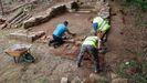 Imagen de archivo de trabajos de arqueología en la comarca